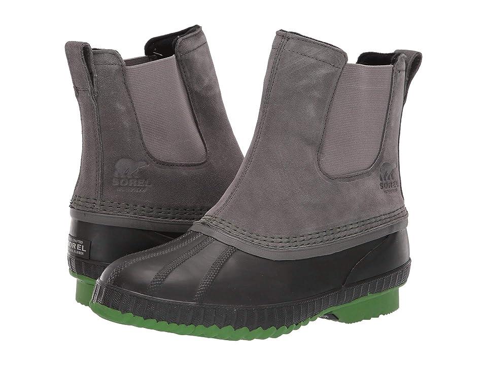 SOREL Kids Cheyanne II Chelsea (Little Kid/Big Kid) (Quarry/Buffalo) Boys Shoes