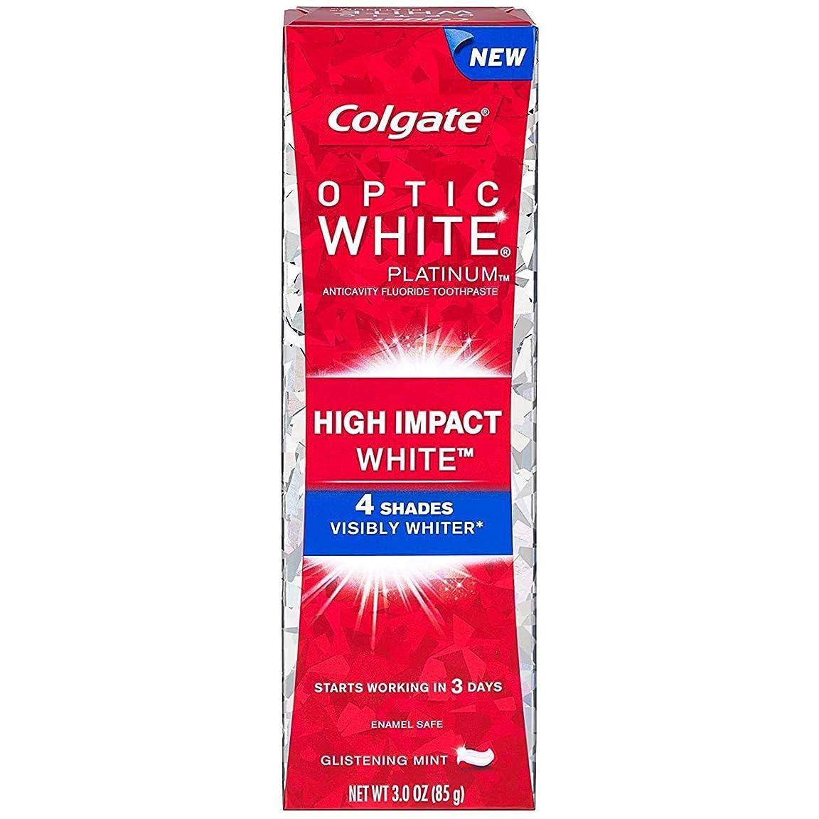 ぬいぐるみインストラクター尊敬する2個セット Colgate コルゲート オプティックホワイト ハイインパクト 85g