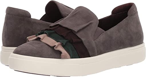 Mouse Suede/Truffle Suede/Dark Green