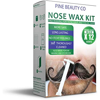 Amazon Com Nose Wax Kit For Men And Women Hair Removal Waxing