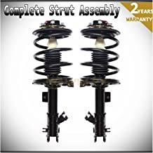 WIN-2X New 2pcs Front Left & Right Side Quick Complete Suspension Shock Struts & Coil Springs Assembly Fit 02-06 Nissan Altima 3.5L V6 04-08 Maxima