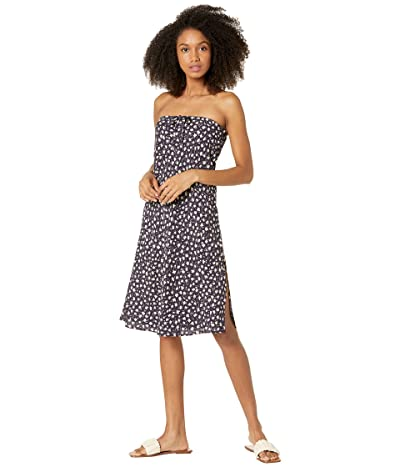 Madewell 25 Pull-On Midi in Woodblock Floral