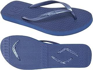 Boomerangz Slim Fit Interchangeable Flip Flops | Slippers | Thongs (Women's) Colour: Navy