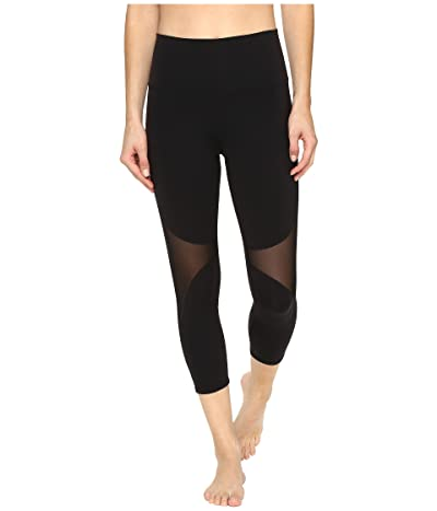 ALO High-Waist Coast Capris (Black) Women