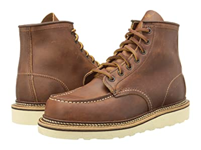 Red Wing Heritage 6 Moc Toe (Copper Rough & Tough) Men
