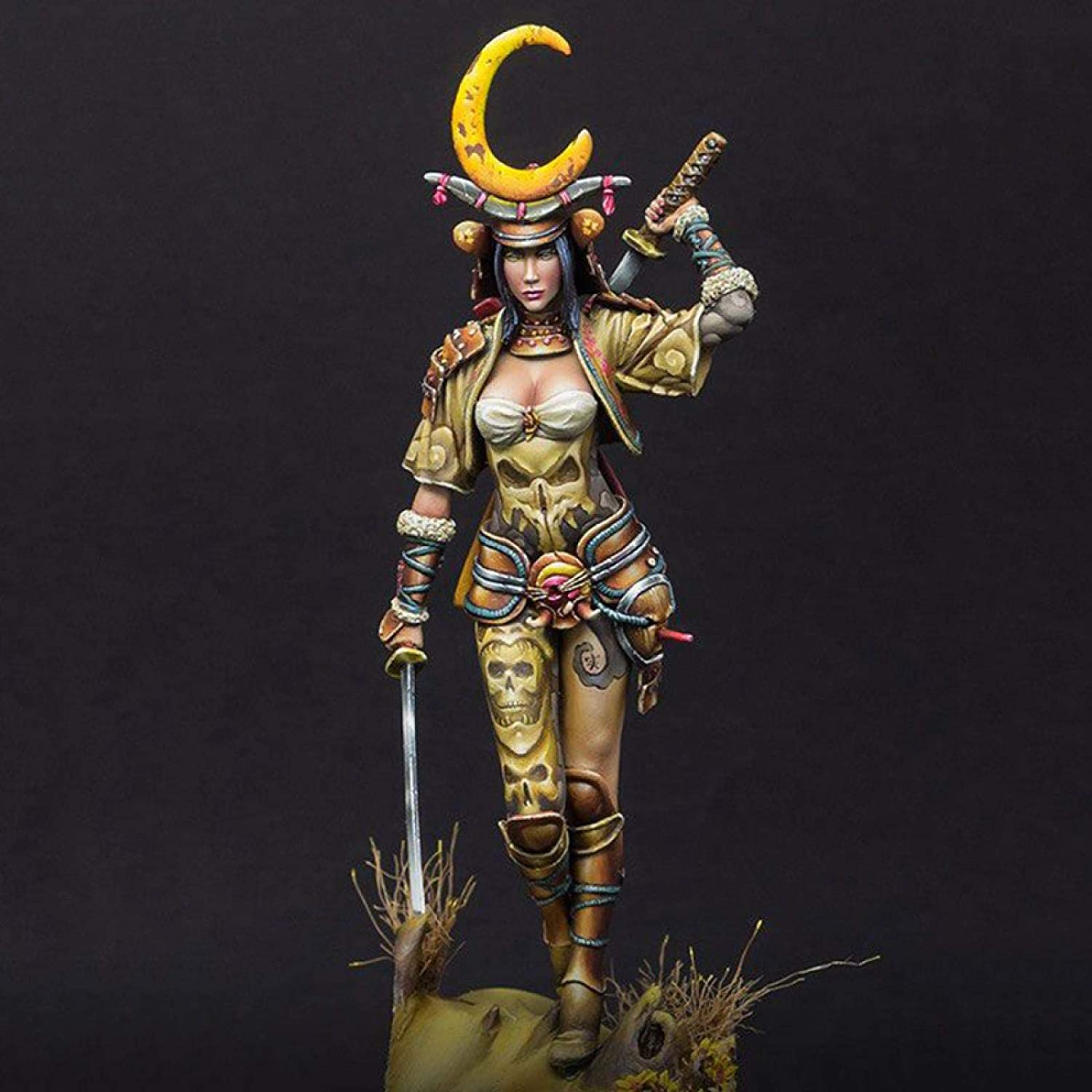 Risjc 1:24 Resin Model Character Female Stan Soldier kit Ancient Max 84% OFF El Paso Mall