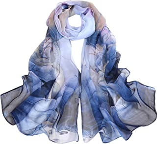 Long Soft Women Wrap Scarf Lady Shawl Scarves Chiffon Slik Ladies Shawl Summer