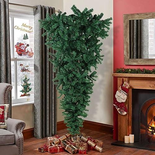 Upside Down Christmas Tree Ceiling.Upsidedown Christmas Tree Amazon Com