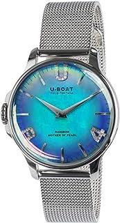 U-Boat - Rainbow Reloj para Mujer Analógico de Cuarzo con Brazalete de Acero Inoxidable 8474/MT