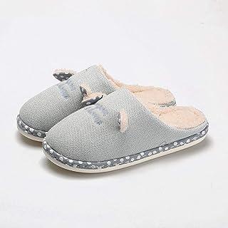 CJshop Zapatillas de Casa Zapatillas de algodón Bolsa de Abrigo de Interior de la casa Linda del hogar con más Terciopelo ...