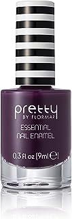 Pretty by Flormar Essential Nail Enamel, Dark Purple 049, 9 ml