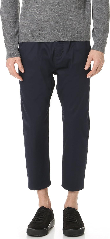 Vince Men's Drop Rise Cropped Drawstring Pant