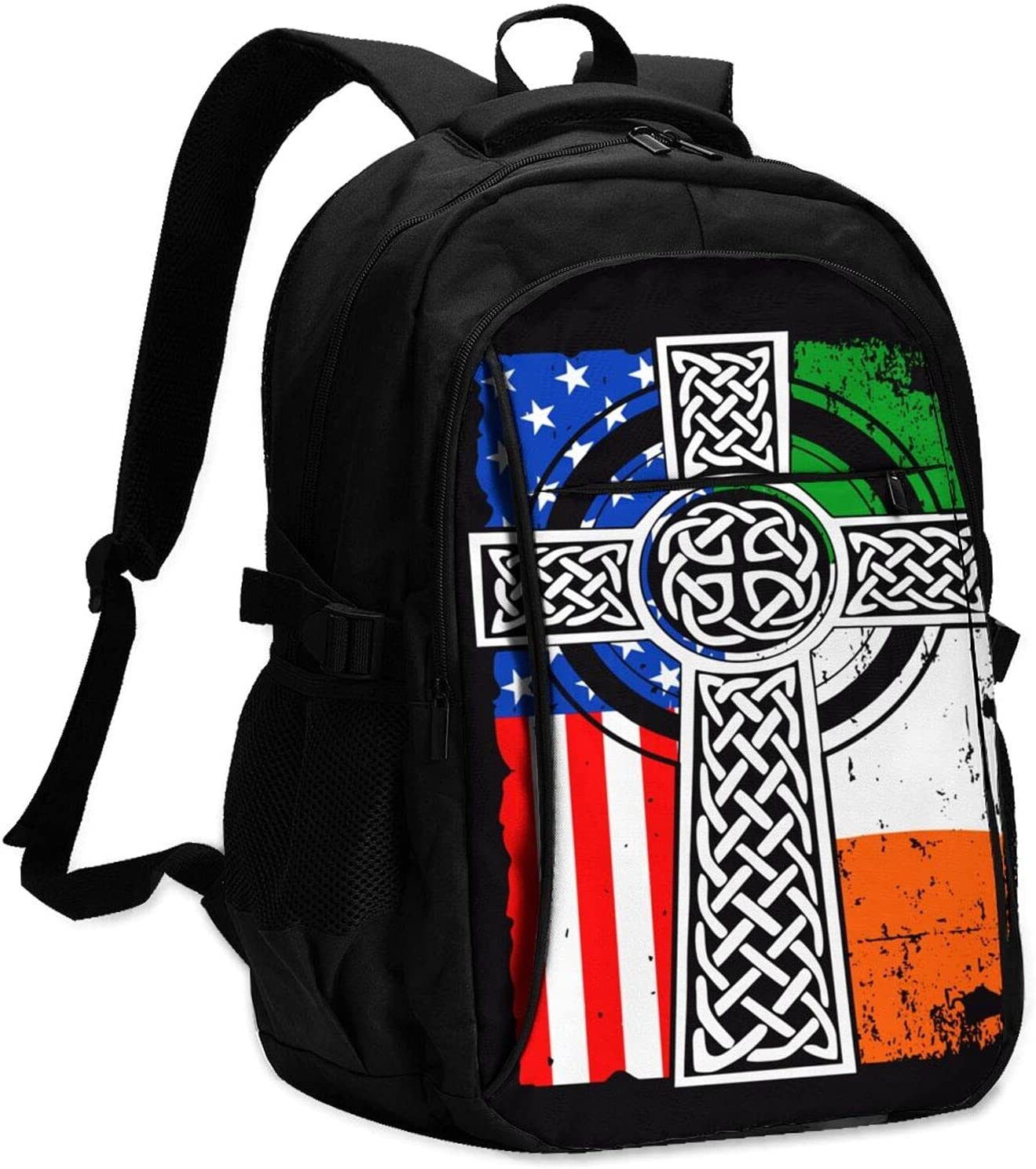 Irish Recommendation American Sale Usa Flag Celtic Cross And13-16 Port Charging Usb