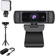 1080P Webcam Kits, NexiGo FHD USB Web Camera with Privacy Cover, Extendable Tripod Stand, Video Conference Lighting, USB 3...