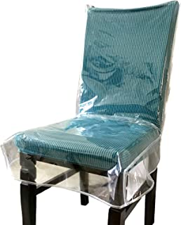 Amazon Com Vinyl Dining Chair Slipcovers Slipcovers Home Kitchen