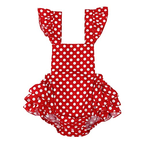 491efcb83 Wennikids Baby Girl's Summer Dress Clothing Ruffle Baby Romper
