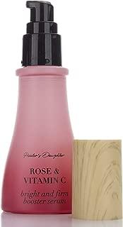 Healers Daughter Rose & Vitamin C Serum (1.5 FL oz). Brightening serum w/Vitamin C, Hyaluronic Acid, Manuka Honey, Bulgarian Rose helps firm skin & improve the appearance of Wrinkles & Dark Spots.