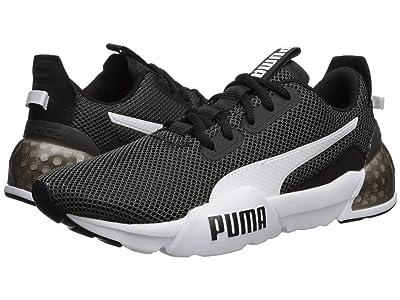 Puma Kids Cell Phase (Big Kid) (Puma Black/Puma White) Boys Shoes