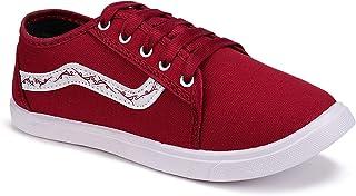 Camfoot Women's Red Sneakers (11012-7)