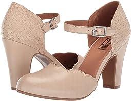 f95df998128f Women s Beige Heels + FREE SHIPPING