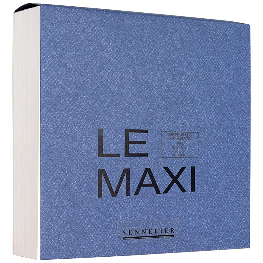 Sennelier Le Maxi Block Drawing Pads 6 in. x 6 in.