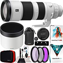 $2049 » Sony FE 200-600mm F5.6-6.3 G OSS Lens Full Frame Super Telephoto Zoom SEL200600G Professional Lens Bundle with UV FLD CPL Filter Kit + Photo Video Editing Software Kit and Deco Gear Accessories Set