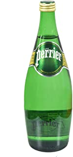 Perrier Carbonated Water (Sparkling Water) 750ml Glass Bottle