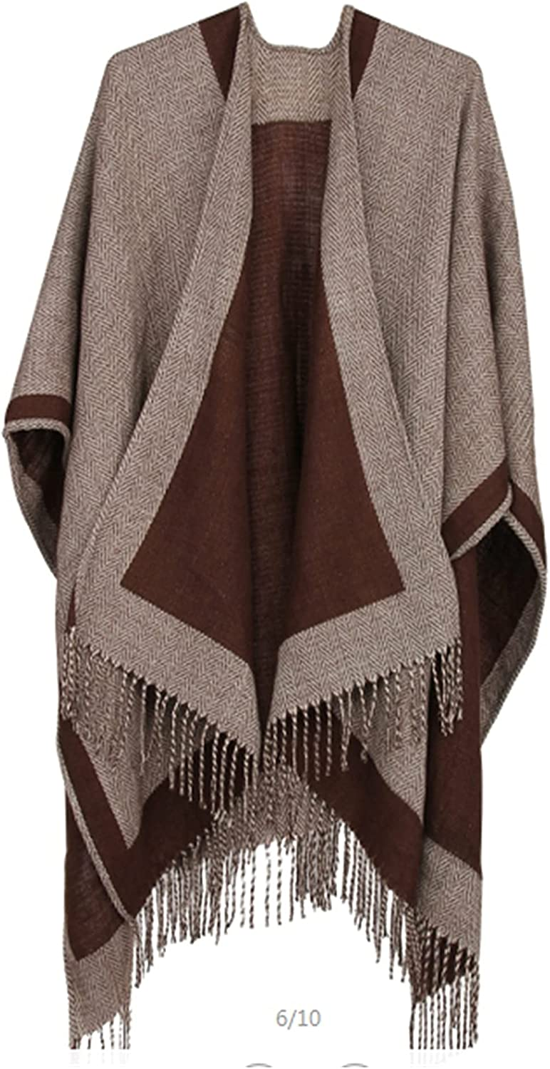 Very popular Women Wrap Shawl Knitted Sweater Coat Winter For Christmas In lowest price Ho