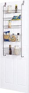 Frigidaire Over the Door Organizer for Kitchen, Bathroom, Pantry Door Storage