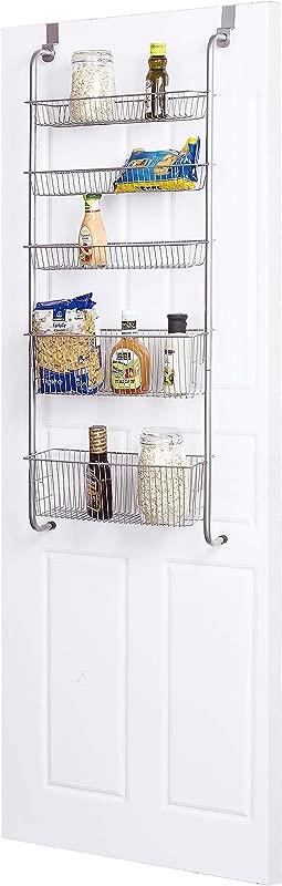 Frigidaire Over The Door Organizer For Kitchen Bathroom Pantry Door Storage