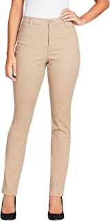 GLORIA VANDERBILT womens Amanda Polished Trouser Pants