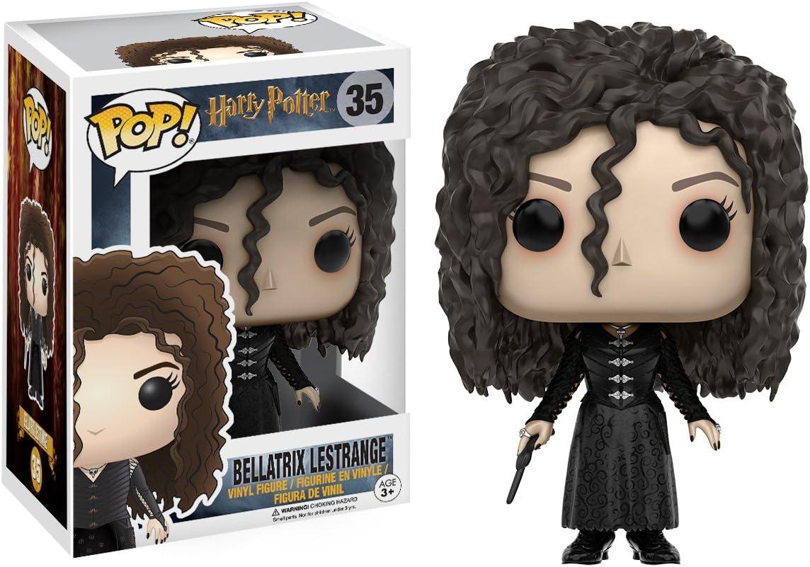 Funko- Bellatrix Lestrange Figura de Vinilo, colección de Pop, seria Harry Potter (10984)
