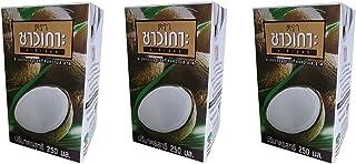 【3個セット】CHAOKOH チャオコー ココナッツミルク 紙パック 250ml