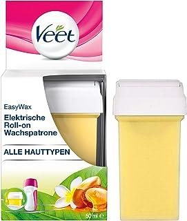 Veet EasyWax Nachfüll-Patrone essential inspirations, für alle Hauttypen, 1er Pack 1 x 50 ml
