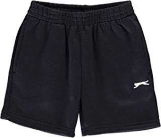Slazenger Kids Boys Fleece Shorts Infant Pants Trousers Bottoms Elasticated