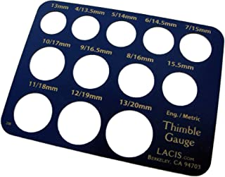 Thimble Gauge (finds sewing finger size)