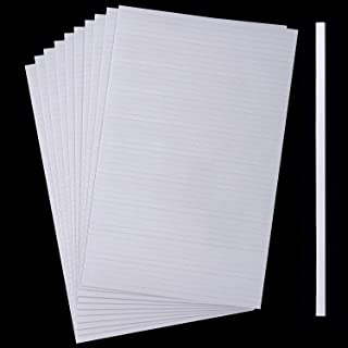 500 Pieces Double Sided Foam Sticky Strips Dual-Adhesive 3D Foam Tapes Foam Pop Strips Adhesive Mount for Shaker Card, Scr...