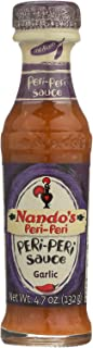 Nando's Peri Peri Sauce - Garlic - Case of 6-4.7 Fl oz.