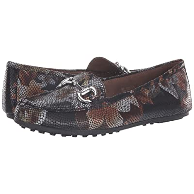 A2 by Aerosoles Drive Back (Black Floral) Women