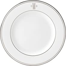 Lenox Federal Platinum Block Monogram Dinnerware Salad Plate, W