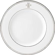 Lenox Federal Platinum Block Monogram Dinnerware Salad Plate, W