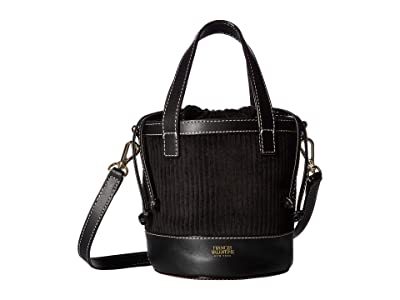 Frances Valentine Small Bucket (Black) Handbags