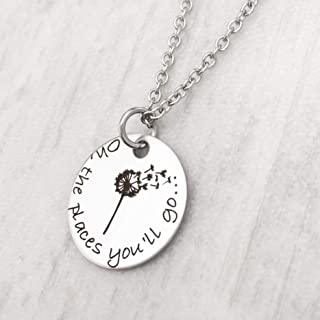 oh the places you ll go necklace