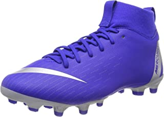 Nike JR Mercurial Superfly 6 Academy GS MG Soccer Cleat (Racer Blue) (2.5Y)