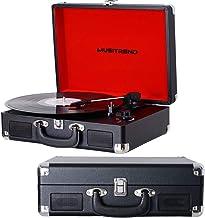 Amazon.es: tocadiscos vintage negro