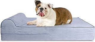 KOPEKS Cama Grande para Perros Mascotas Grandes con Memoria