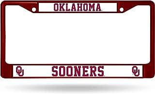 Desert Cactus University of Oklahoma Sooners Metal License Plate Frame for Front Back of Car Officially Licensed Mascot