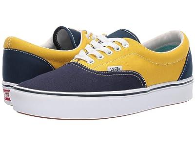 Vans ComfyCush Era ((Sport) Dress Blues/Sulphur/Gibraltar Sea) Athletic Shoes