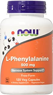 Now Foods L-Phenylalanine 500Mg 120 Capsules
