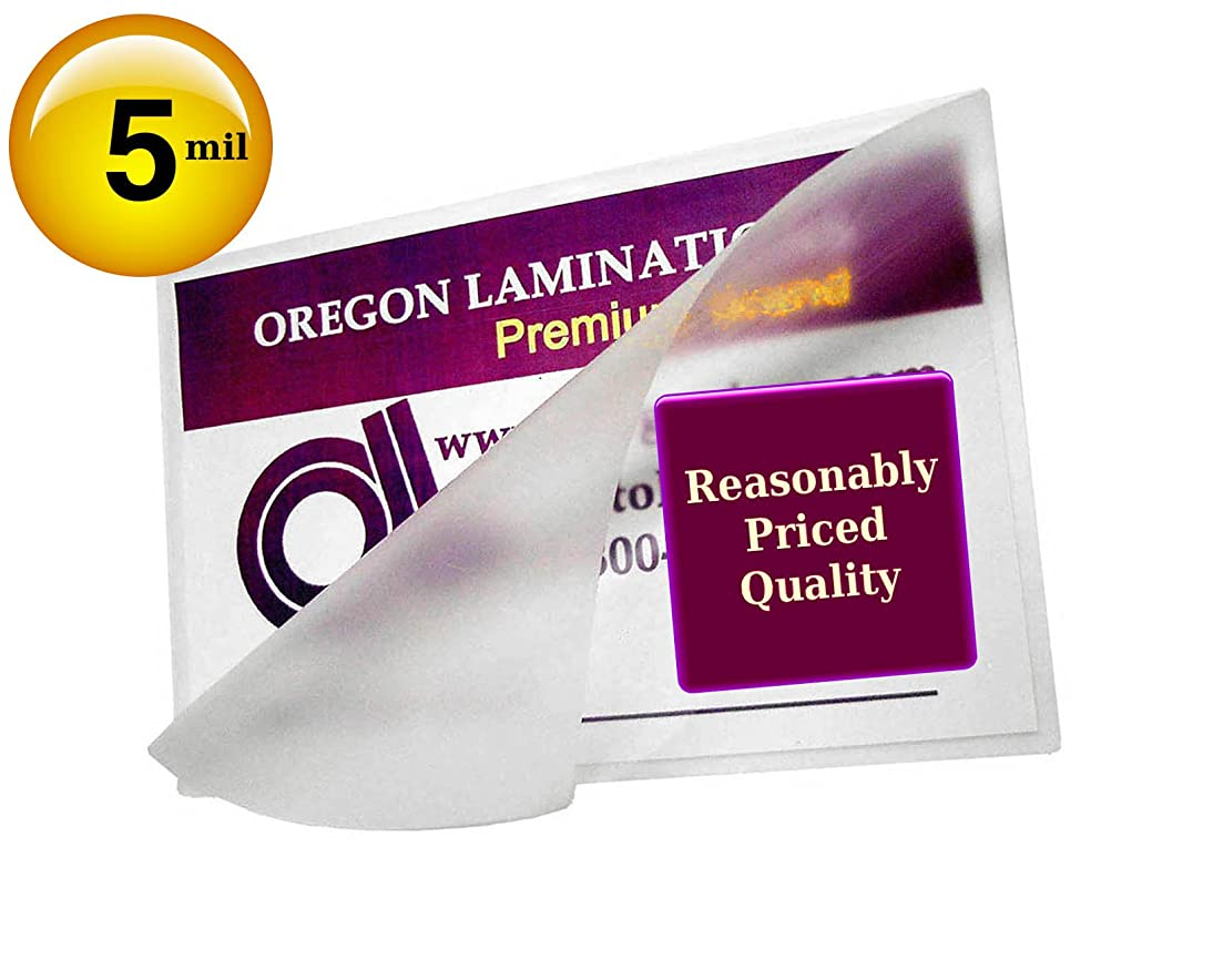 Qty 500 Military Card Laminating Pouches 5 Mil 2-5/8 X 3-7/8 Laminator Sleeves